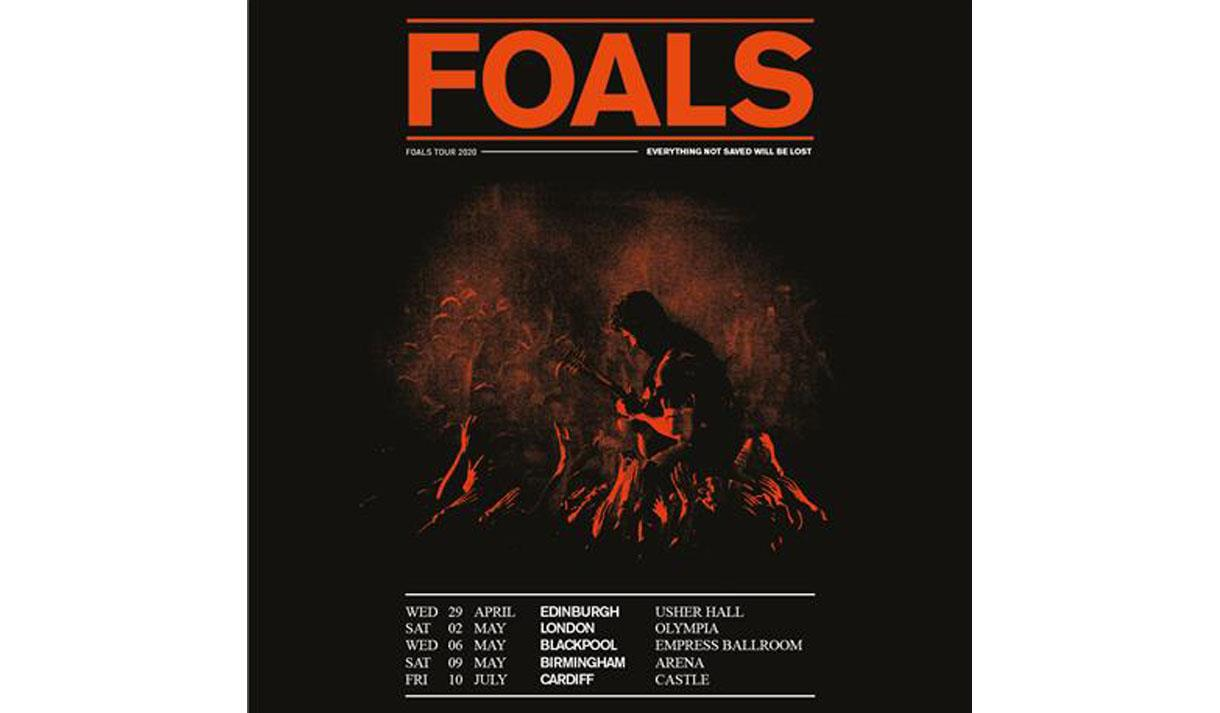Foals promotional poster