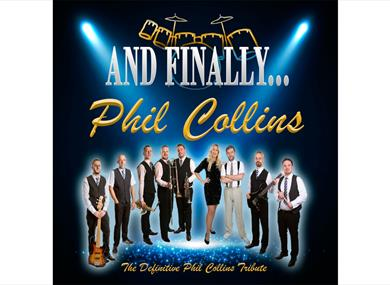 Phil Collins promotional poster