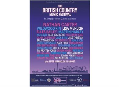 British Country Music Festival Poster