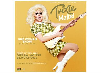 Trixie Mattel promotional poster