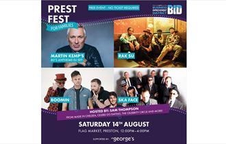 Prestfest for families poster