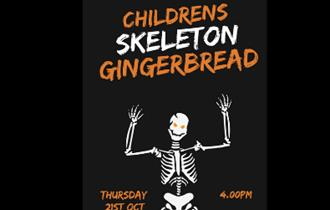 Childrens Skeleton Gingerbread