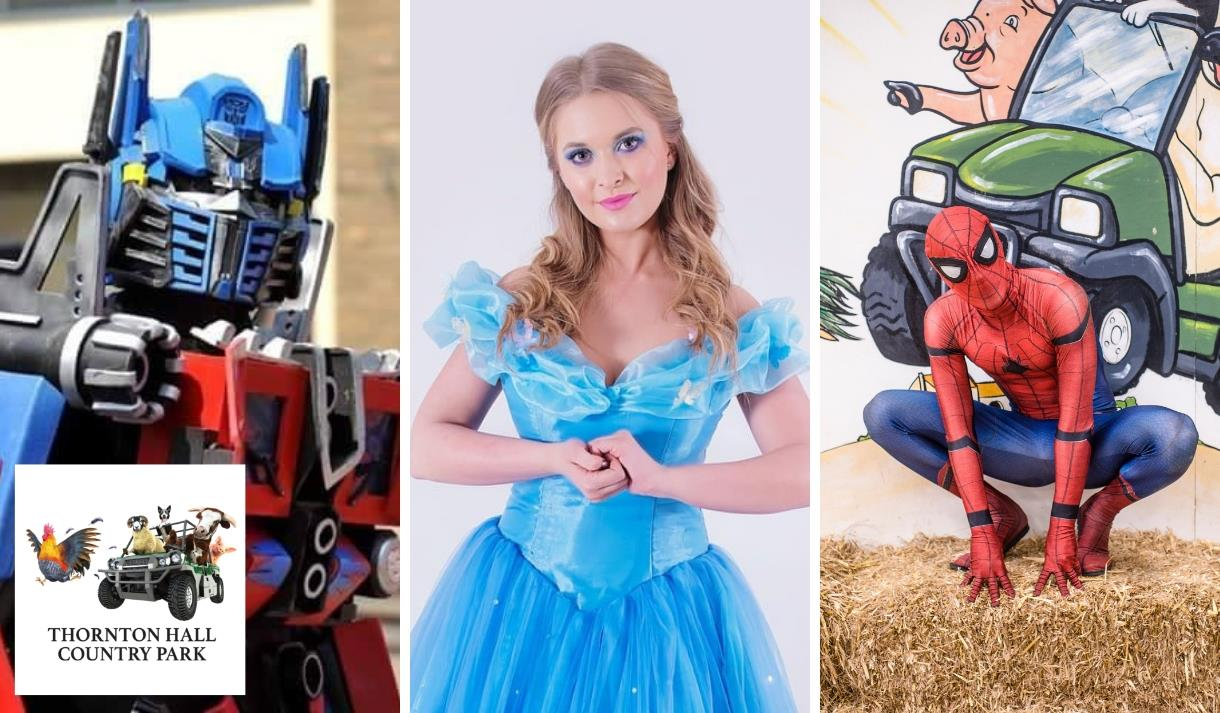 Superhero & Princess Party at Thornton Hall Country Park