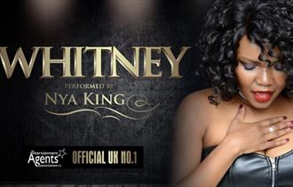 Promotional poster for the event including a picture of Nya King.