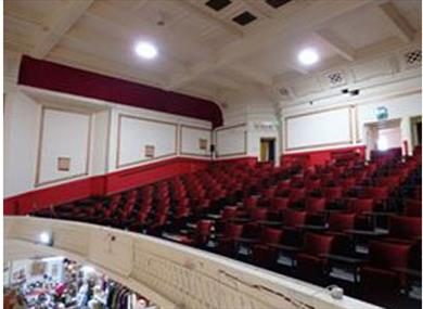 Traditional theatre tier.
