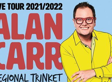 Alan Carr Tour poster