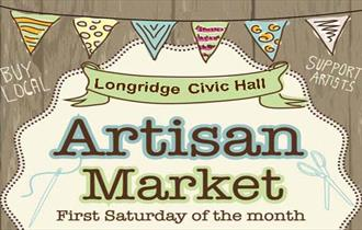 Artisan Market, first Saturday of the month, Longridge Civic Hall.