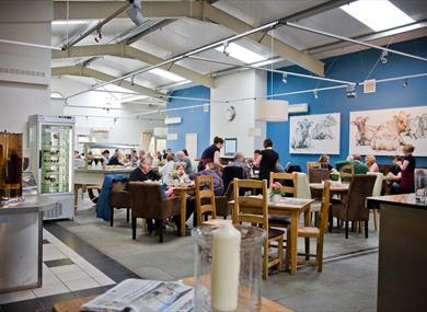 Bashall Barn Food Visitor Centre