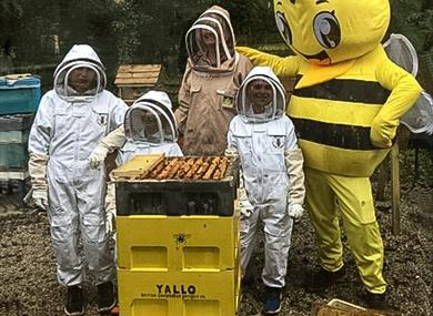 Beekeeping poster