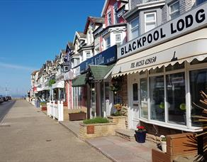 Exterior of Blackpool Lodge