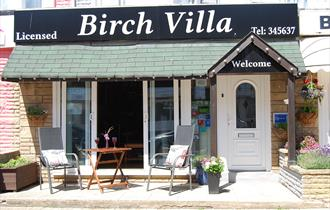 Birch Villa Outside