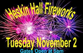 Heskin Hall Fireworks
