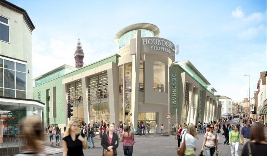 Hounds Hill Shopping Centre