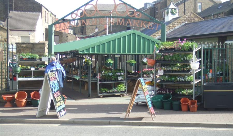 Haslingden Market