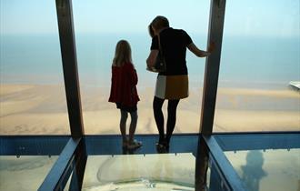The Blackpool Tower Glass Floor