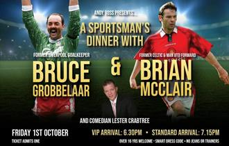 Evening with Bruce Grobbelaar and Brian McClair