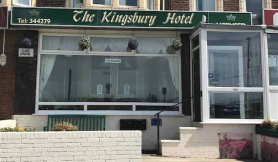exterior of Kingsbury Hotel