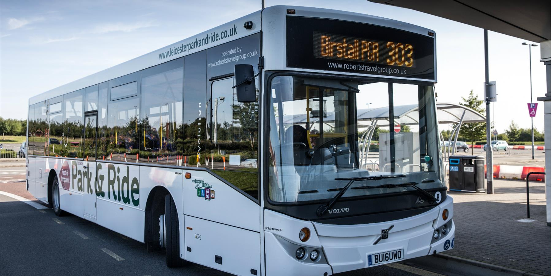 Park and Ride services in Leicester - Travel around Leicester