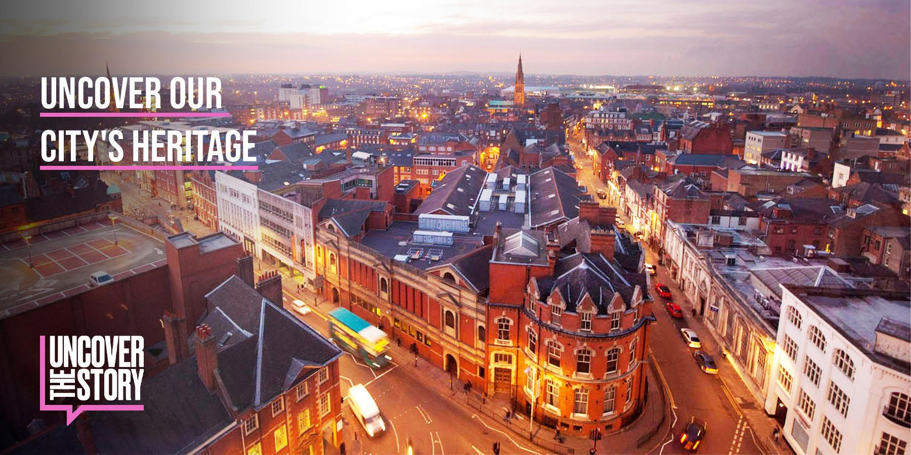 Uncover our City's Heritage HEADER IMAGE