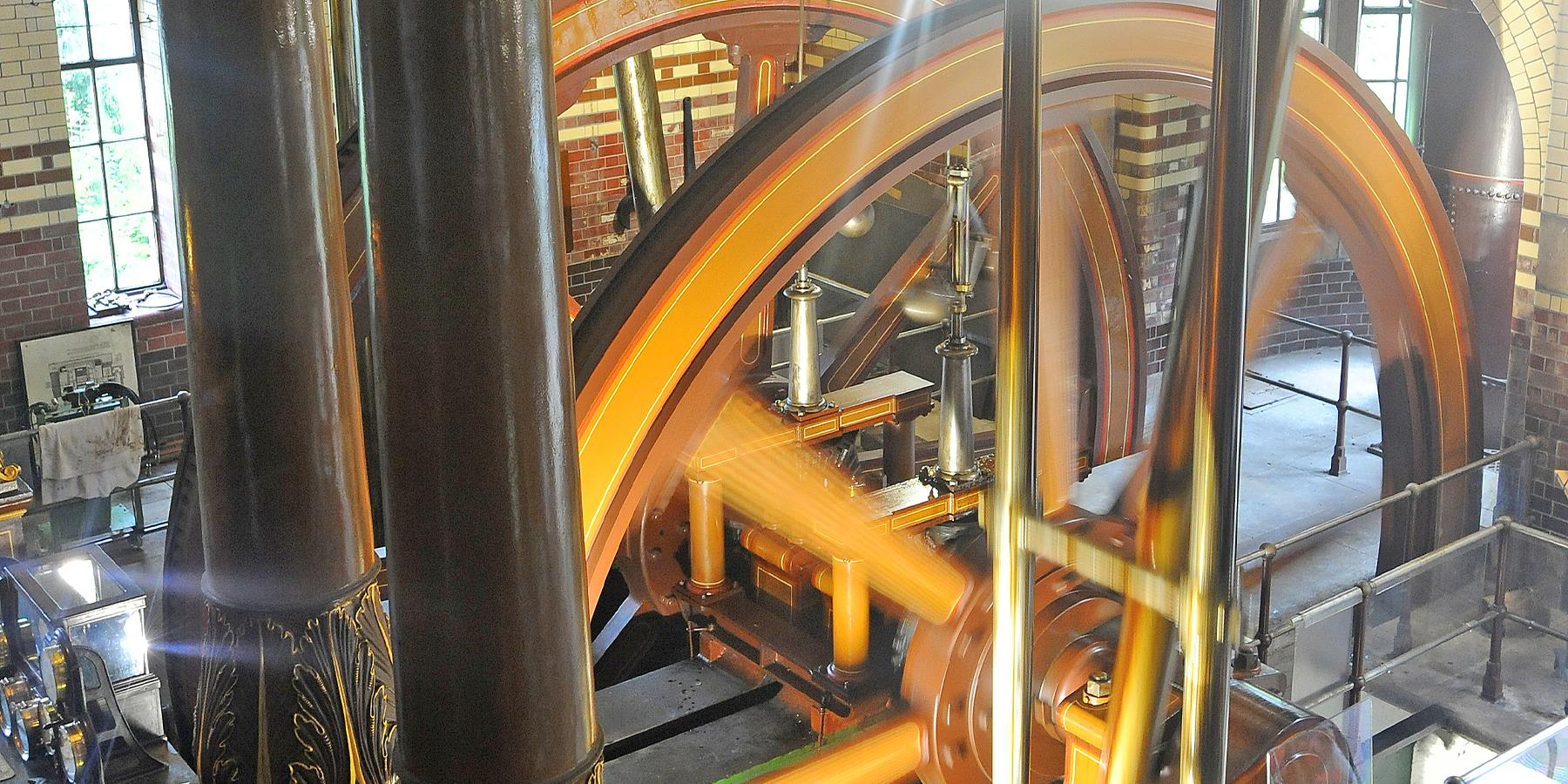 Abbey Pumping Station beam engine