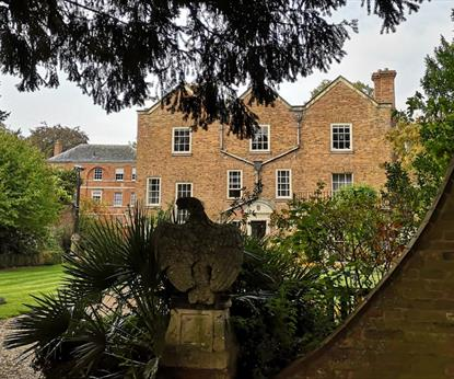 Belgrave Hall (From Garden View)