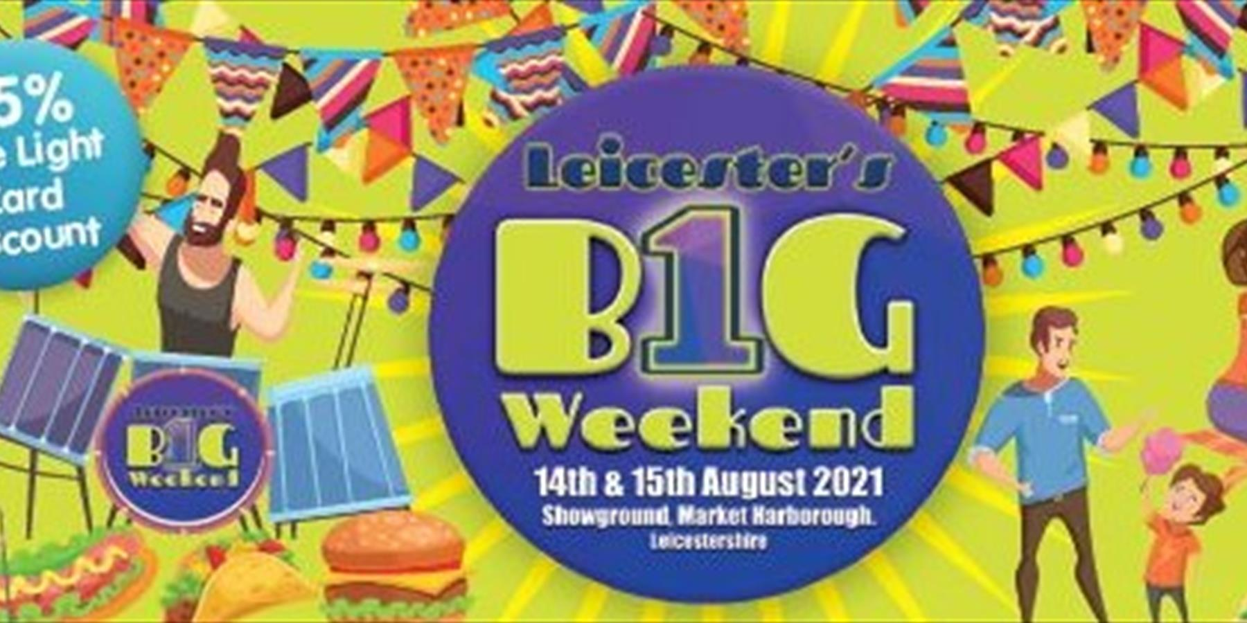 Leicester's 1 big weekend event poster