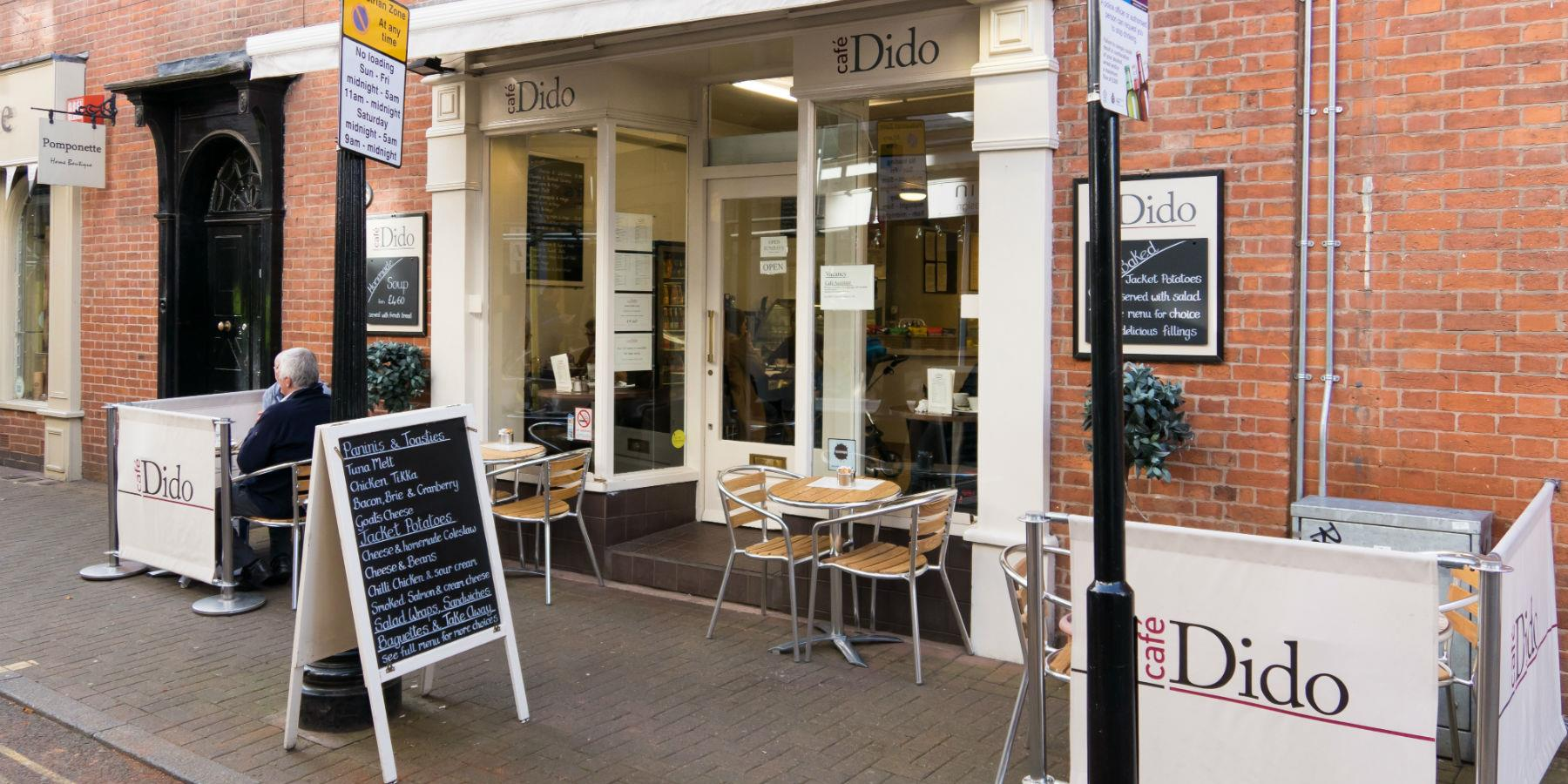 Cafe Dido, Cafes - Eating and Drinking in Leicester