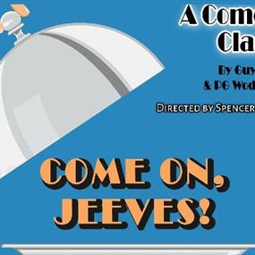 Come on Jeeves poster