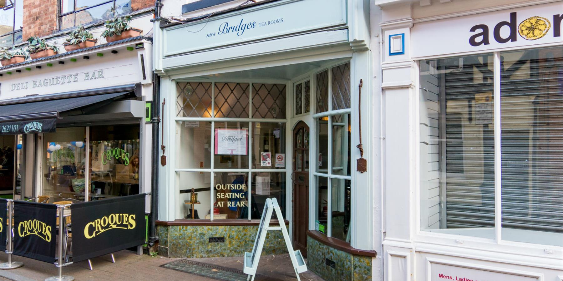 Mrs Bridges Tearooms, Eating and Drinking in Leicester