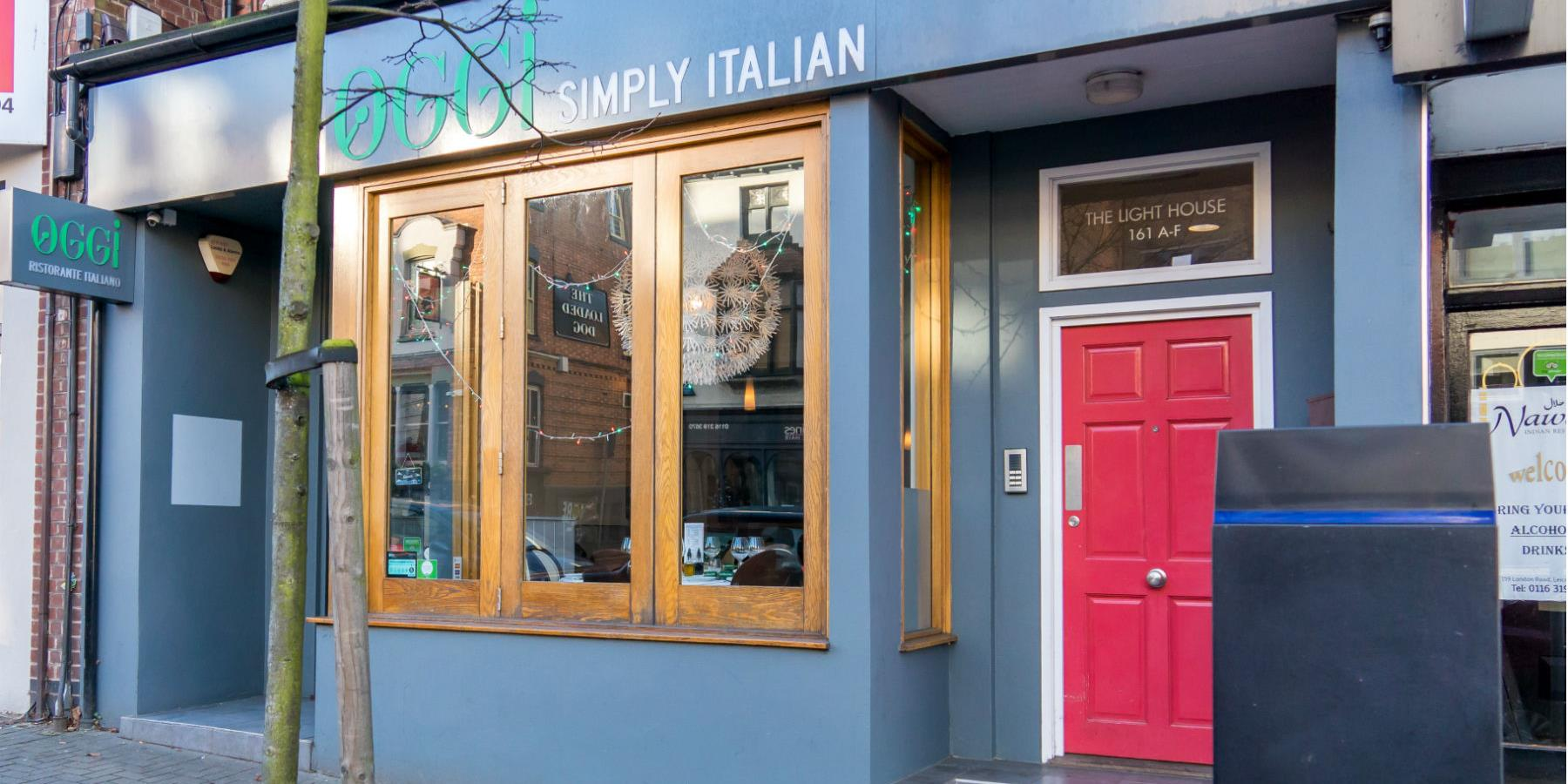 OGGI Simply Italian, Restaurants - Eating and Drinking in Leicester