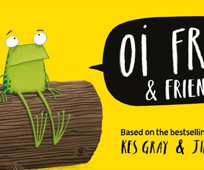 Oi Frog and Friends poster