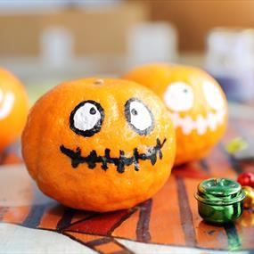 Pumpkin and bells