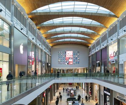 Highcross Shopping Centre - Interior shops