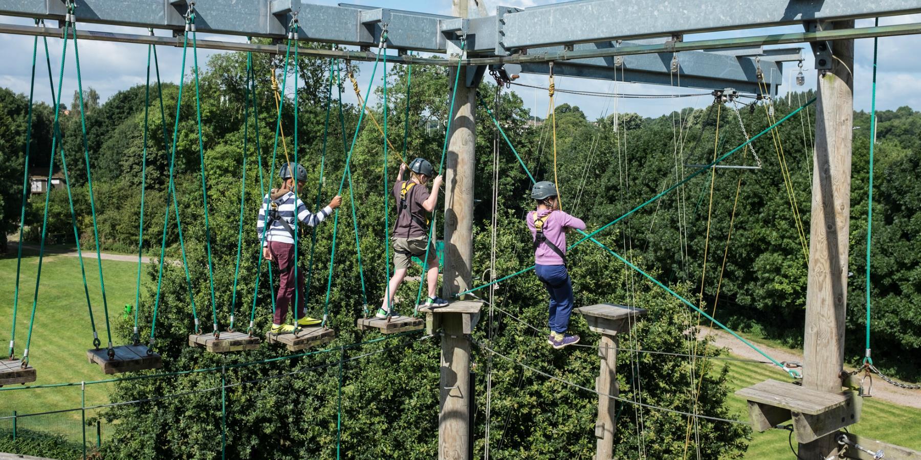 High Ropes at LOPC