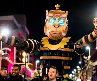 Diwali Lights Switch On  puppet
