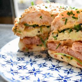 sandwich at grays in lcb depot