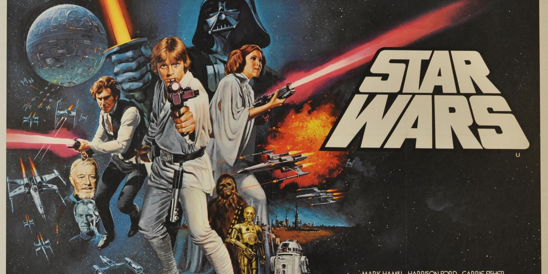 Star Wars 1977, artist Tom Chantrell