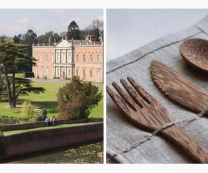 Staunton Harold Hall and crafted cutlery