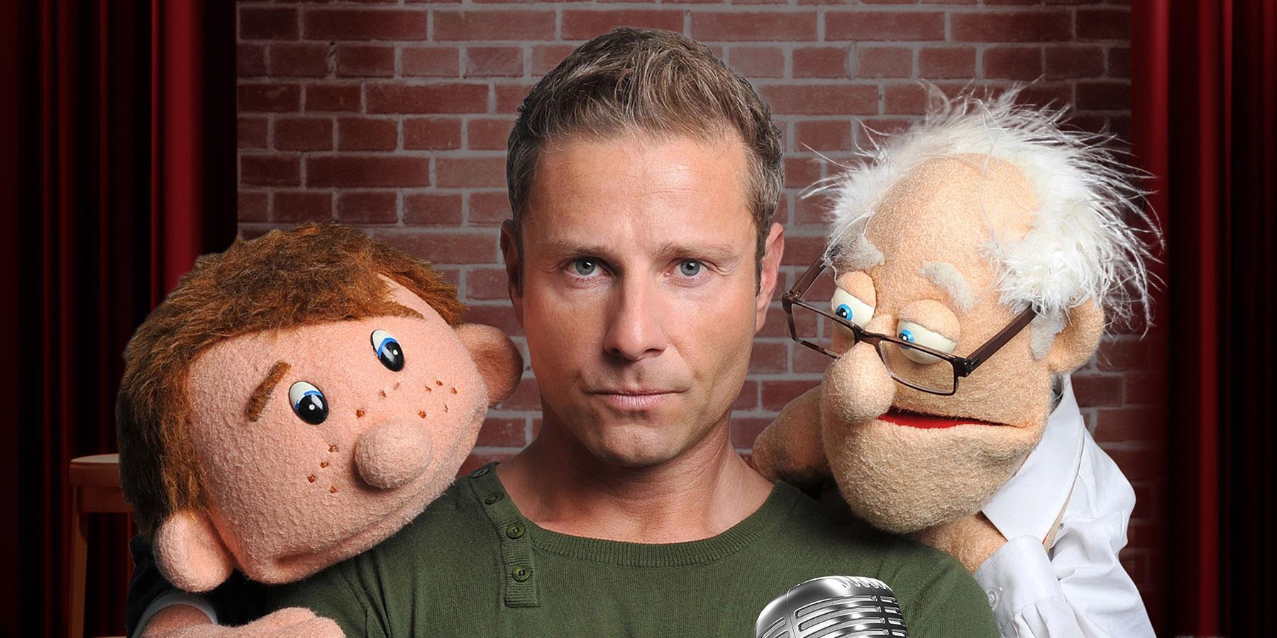 Paul Zerdin and puppets