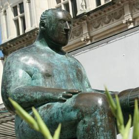Sockman statue, Loughborough, Leicestershire