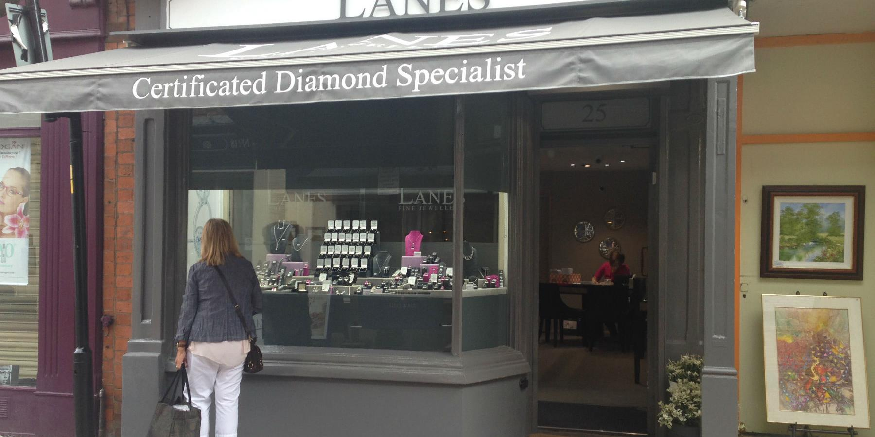 Lanes Fine Jewellery, Shopping in Leicester