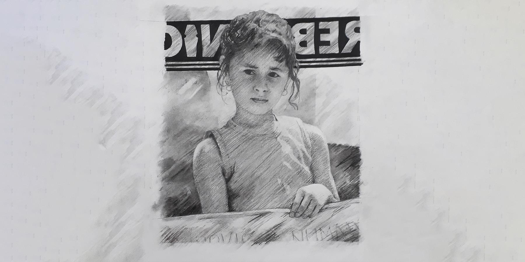 drawing of child