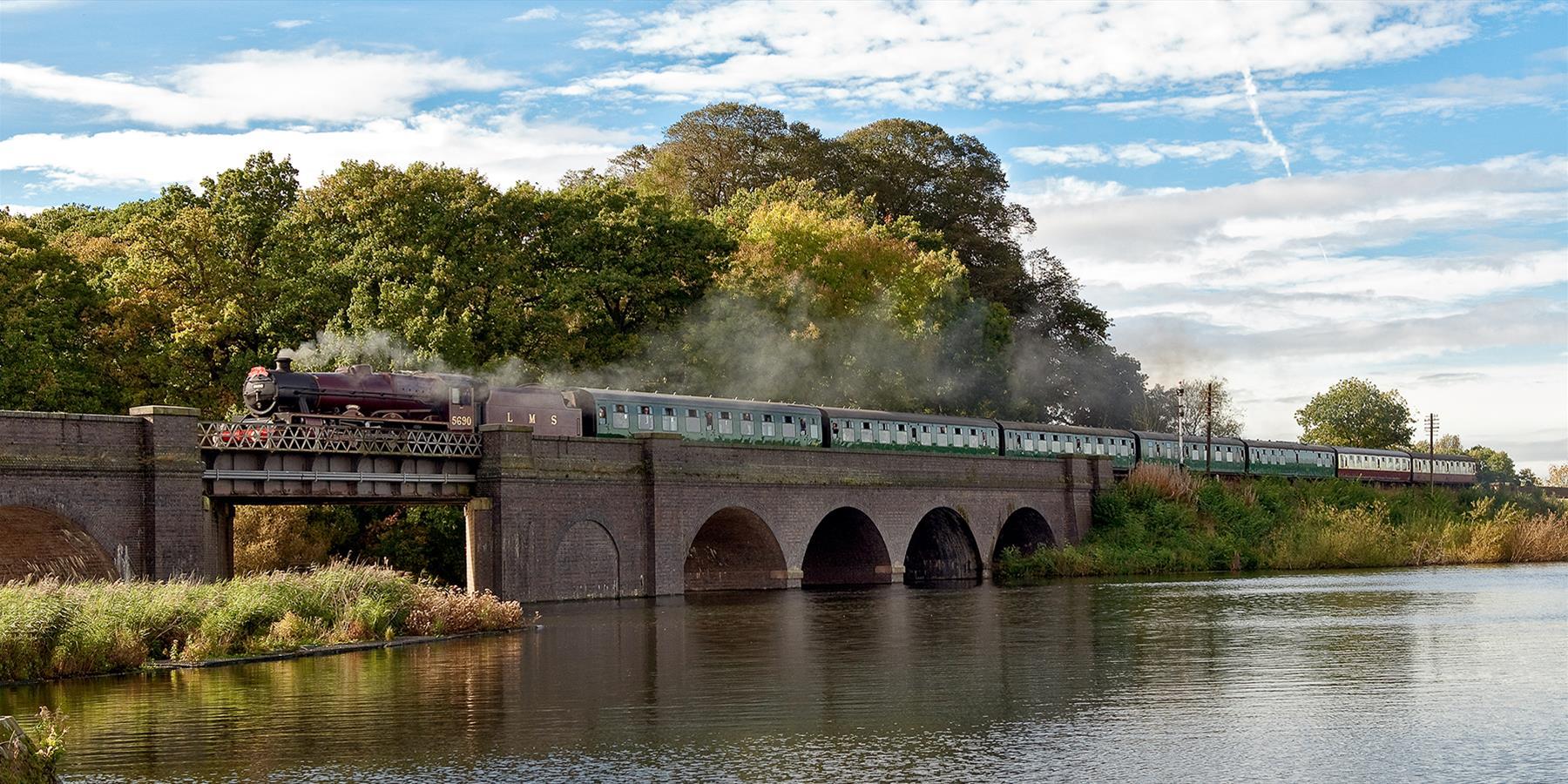 Great Central Railway exterior bridge
