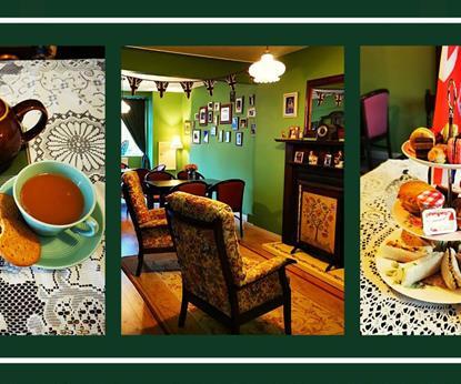 Ivys tea room offering