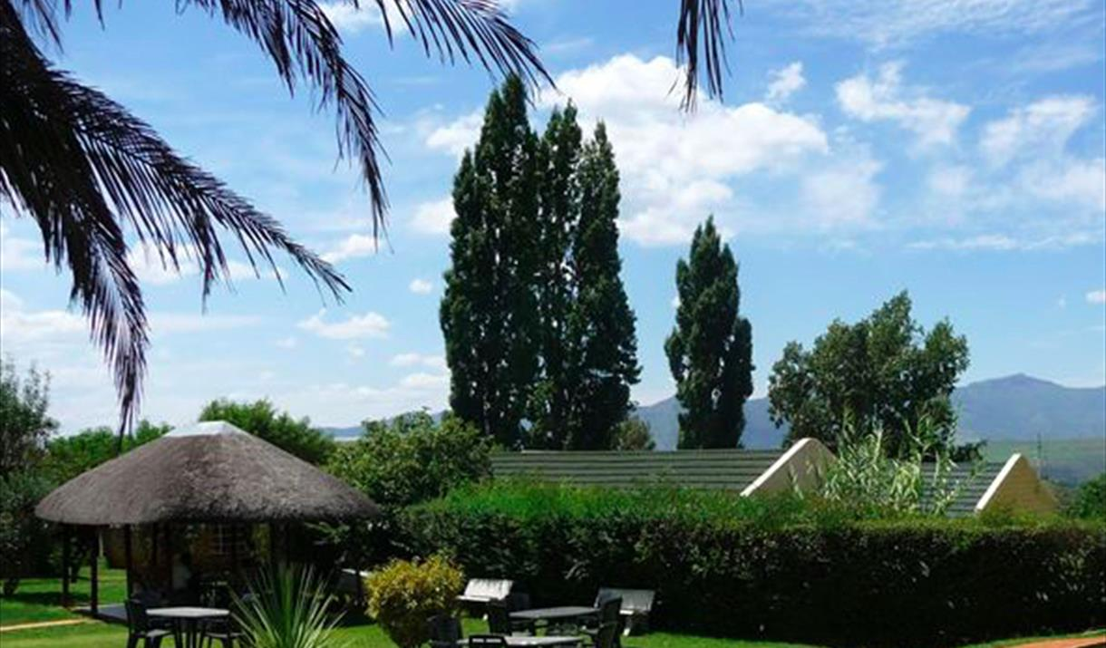 Aloes Guest House restaurant