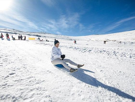 Afriski skiing and snowboarding