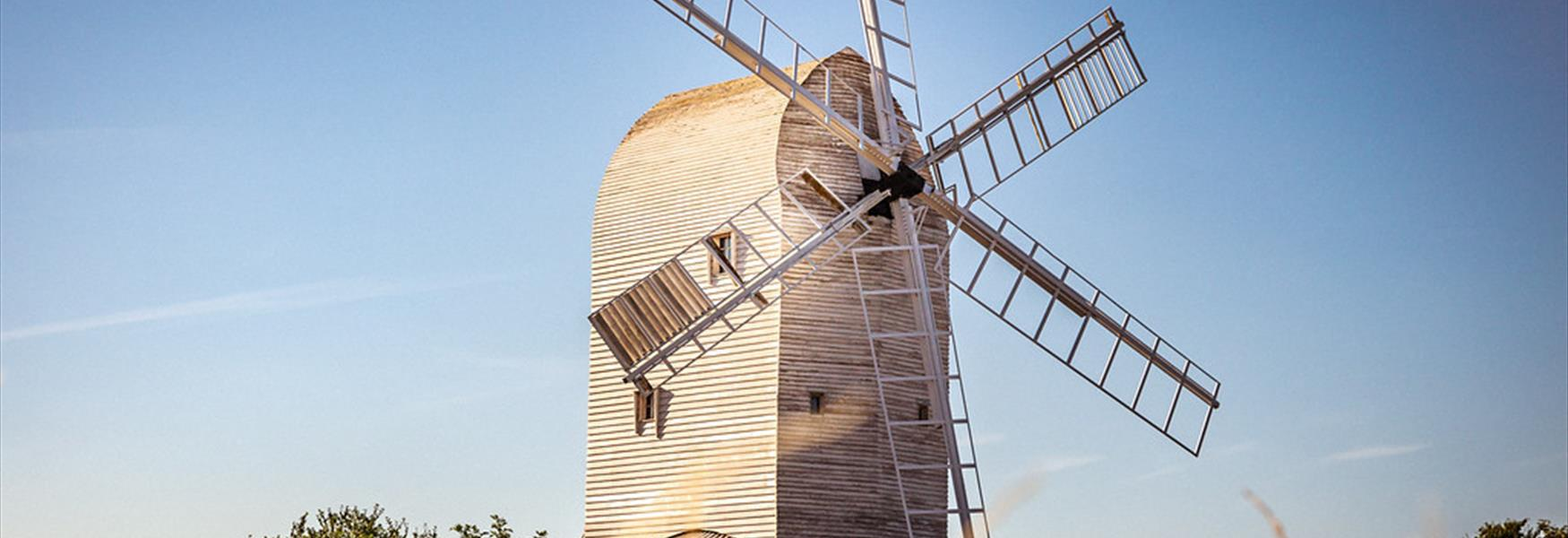 Ashcombe Windmill, Kingston - Nigel French