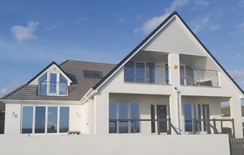 Weatherall Coastal Cottage front elevation