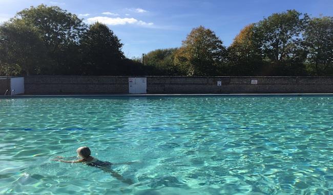 Pells Pool, outdoor lido, wild swimming