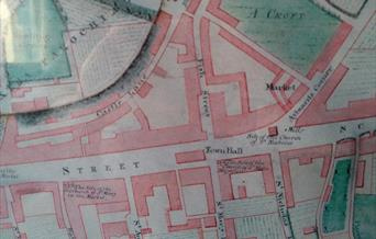 old map of Lewes